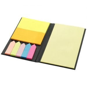 Relatiegeschenk Eastman sticky notes - Zwart