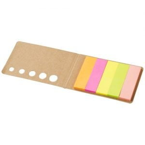 Relatiegeschenk Fergason sticky notes - Naturel