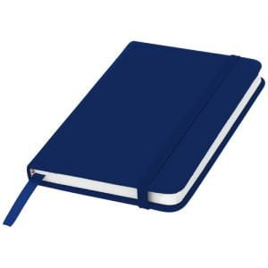 Relatiegeschenk Spectrum A6 hardcover notitieboek - Navy