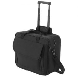 "Relatiegeschenk Business 15.4"" laptop trolley - Zwart"