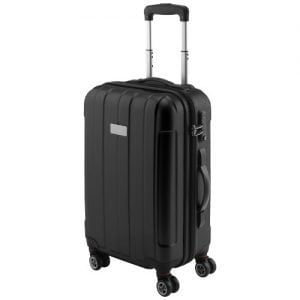 "Relatiegeschenk Carry on 20"" spinner trolley - Zwart"