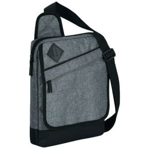Relatiegeschenk Graphite tablet tas - Heather grijs