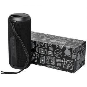 Relatiegeschenk Rugged waterbestendig Bluetooth® speaker - Zwart