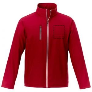 Relatiegeschenk - Orion softshell heren jas - druklocatie